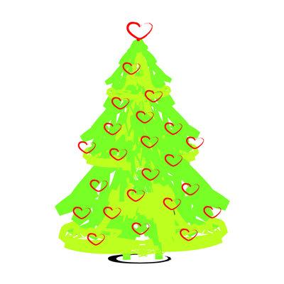 Kerstkaartenset KerstBoom