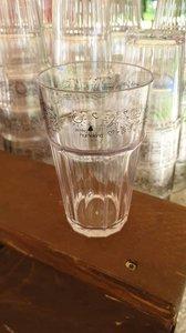 Hartekind bier of frisdrank glas
